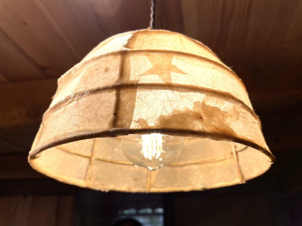 竹紙ランプシェード